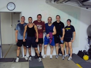 Group Post WOD
