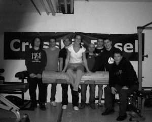 Guests from CrossFit Augstburg and Powerlifters from Kennelbach, Austria