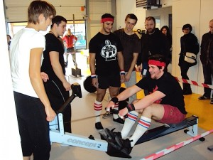 Reto rowing at CH-allenge