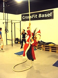 Santa Claus visited CrossFit Basel