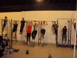 Everyone loves pull-ups!