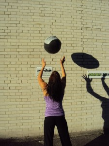 Wallballs in the sun