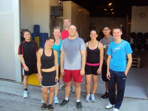 Mike, Derik, Anne from CrossFit Turicum: Thanks for working out @CrossFit Basel