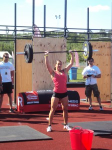 WOD 2 - Thruster Ladder