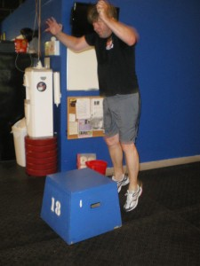 WOD abroad, they did it again – Wolfi in box jump action!