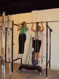 Great work at the pull up station