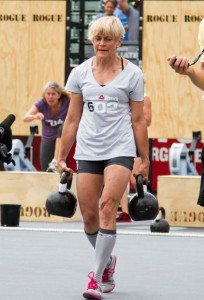 Betsy: Winner CrossFit Games 2011 Masters 60+ years