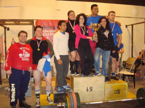 We push our athletes to the winners' rostrum