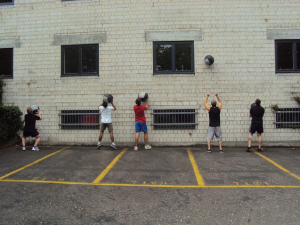We all love doing Wall Balls...