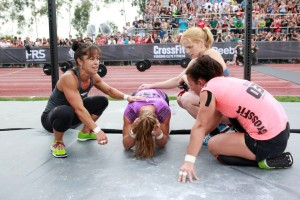 CrossFit community. They compete against each other - but they struggle togheter.