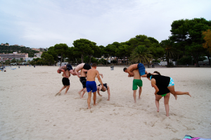 Beach workout - Mallorca 2012