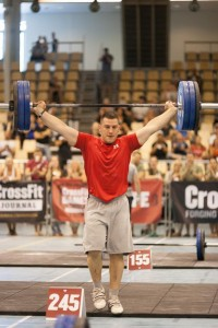 Ramon Gysin: Winner Snatch Ladder CrossFit Regionals Europe 2012