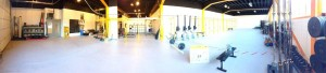 panorama view expanded training area