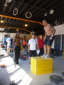CrossFit Team CHallenge 2013 - Event 3