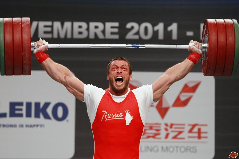 Dmitry Klokov clean and jerk