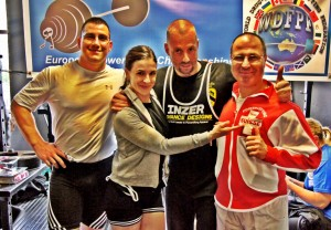 Swiss Powerlifting Team @ European Championships Belfast 2014