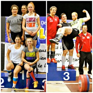 Olympic Weigthlifting Competition in Moutier