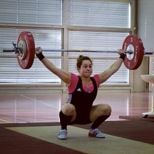 Nora Jäggi - Olympic Weightlifting Competition in Lausanne