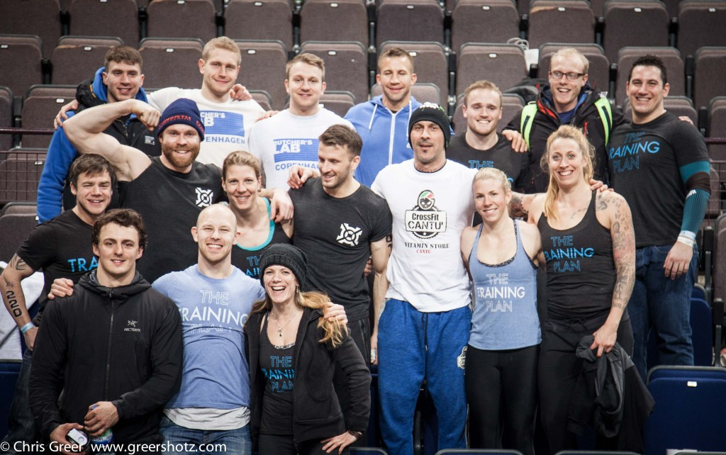 Athletes and Coaching Team