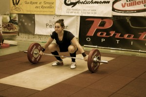Weightlifting Competition Tramelan 2015